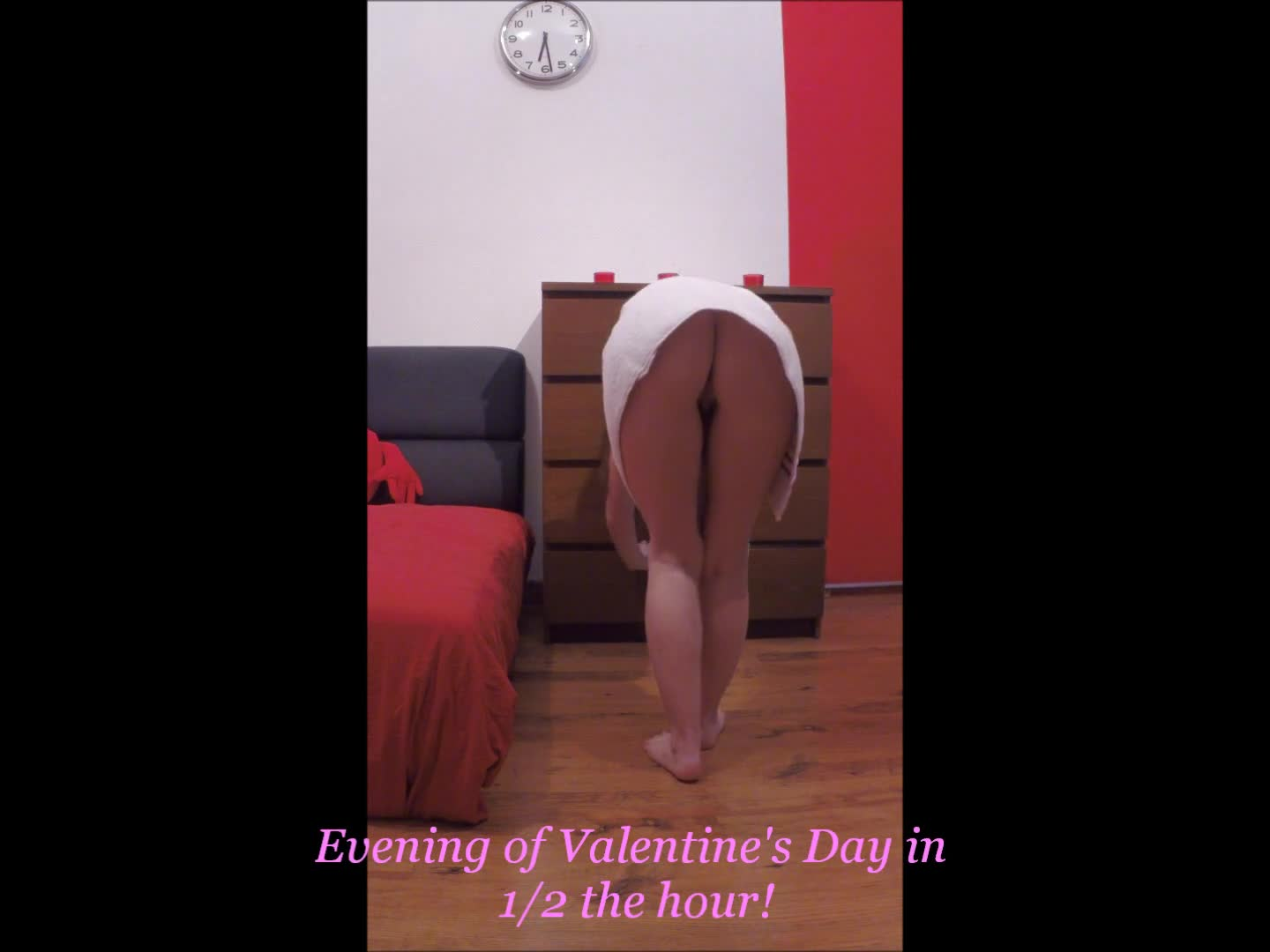 Pic #1Before The Evening of Valentine's Day - Lingerie, Masturbation, Striptease, Toys