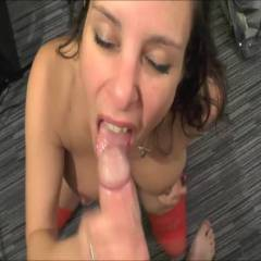 Sucking And Facial - Brunette Hair, Blowjob, Cumshot, Facials , Just Love To Suck Cock, And Get A Nice Load Of Hot Cum