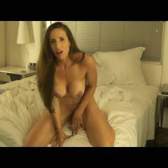 Lonely With Dildo ... MarieS - Big Tits, Brunette Hair, Masturbation, Shaved, Toys , Hope You Enjoy....If You Are In A Hurry Cum Shot Starts At The 06:30 Mark....but Please Watch The Whole Clip!!!!!