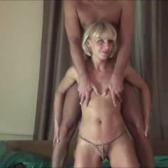 In Bed - Blonde Hair, Blowjob, Cumshot, Girl On Guy , After The First Caresses, Continued In Bed ... Have Fun..