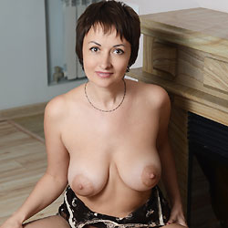 Sophia At Home - Big Tits, Brunette, Lingerie, Shaved