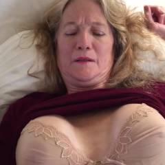 CC Masturbates To Orgasam x2 - Big Tits, Masturbation, Mature, Shaved
