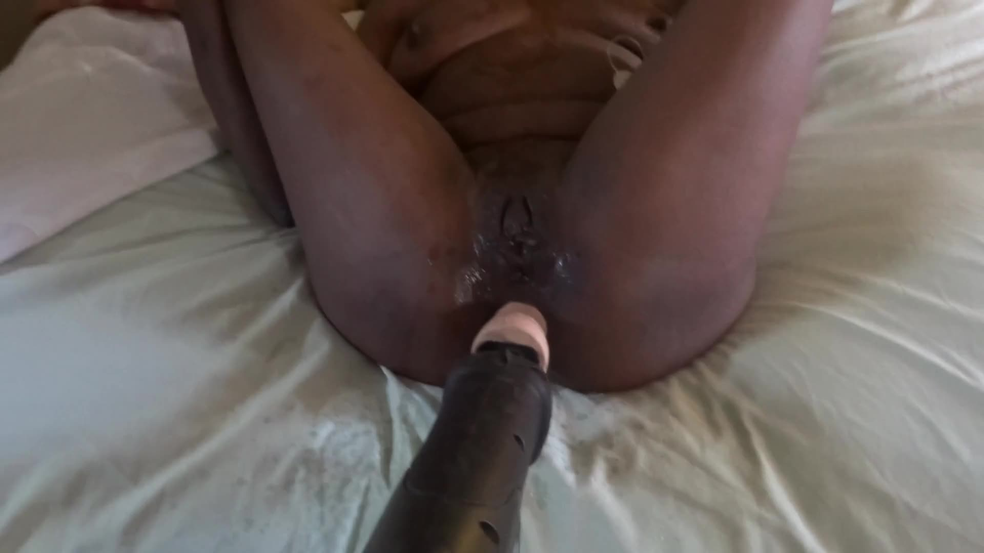 Pic #1Free And Her Favorite Toy - Ebony, Toys, Squirting