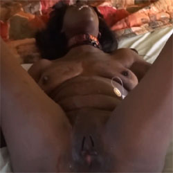 Free And Her Favorite Toy - Ebony, Toys, Squirting