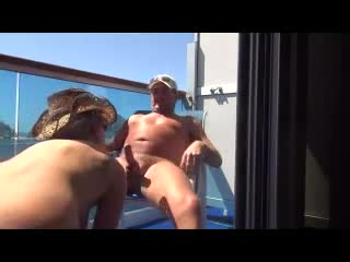 Pic #1Cruise Sex - Nude Amateurs, Blowjob, Outdoors, Girl On Guy, Penetration Or Hardcore