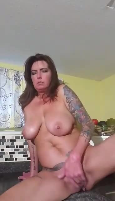 Pic #1Good Moanin Everybody! - Nude Amateurs, Big Tits, Brunette, Masturbation, Toys, Shaved, Tattoos