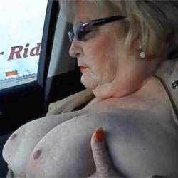 Getting Around And Getting Off - Big Tits, Public Exhibitionist, Flashing, Mature, Toys, Bush Or Hairy, Amateur