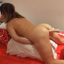 Love The Dildo Machine - Nude Girls, Brunette, Toys, Amateur, Firm Ass