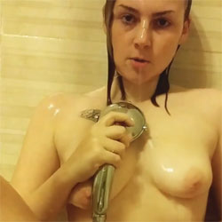 Depilacion Termina En Corrida - Big Tits, Brunette, Shaved, Amateur, Tattoos