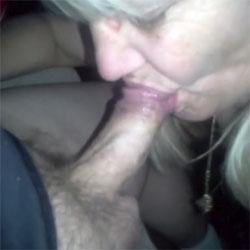 Roberta Sucking Cock - Blonde, Blowjob, Amateur