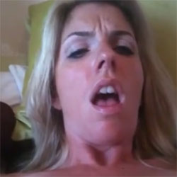 Spiked Dildo Self Fuck - Blonde, Masturbation, Toys, Bush Or Hairy, Amateur