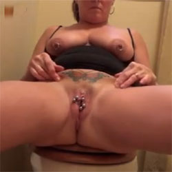 While Rosco Is Away - Big Tits, Masturbation, Toys, Shaved, Amateur, Squirting, Body Piercings, Tattoos, Women Using Dildos