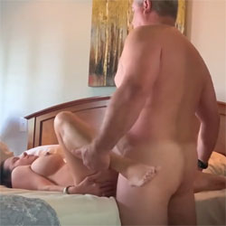 Quickie Creampie  - Amateur, Big Tits, Hanging Tits, Hard Nipples, Legs Spread Wide Open, Natural Tits, Nude Amateurs, Nude Wives, Penetration Or Hardcore, Pussy, Pussy Fucking, Pussy Spreading