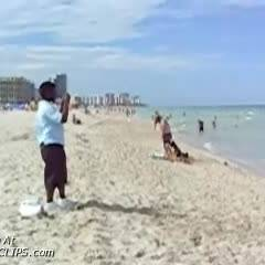 Me Topless On South Beach 1